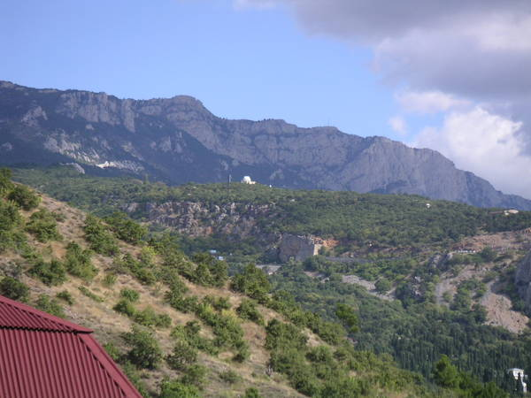 Кацивели: Вид на Симеизскую обсерваторию