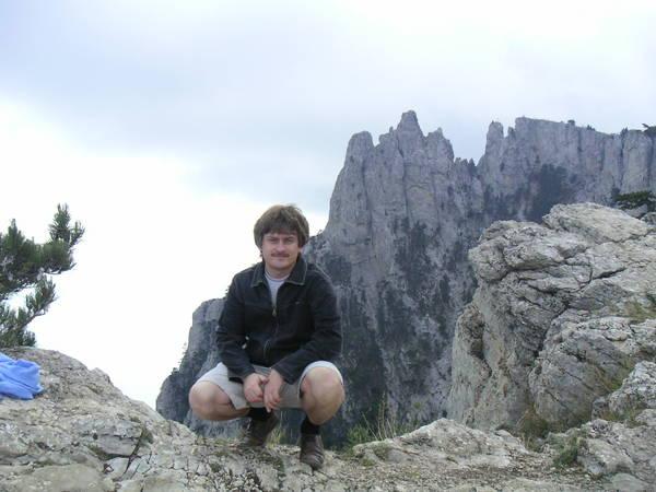 Andy@ на плато Ай-Петри