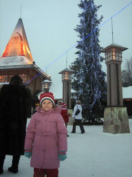 В деревне Санта Клауса