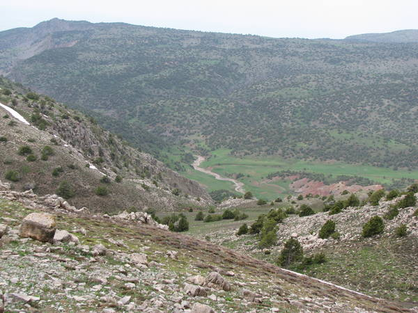 Долина реки Лангар-дарья