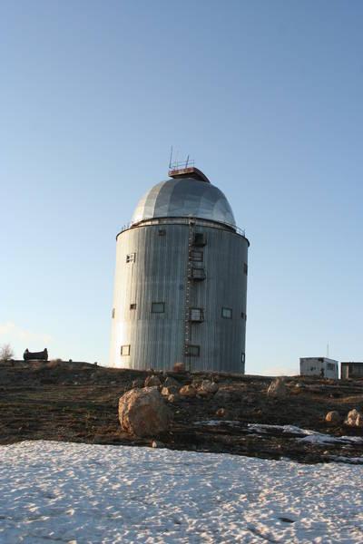 АЗТ 22: 1.5 м телескоп.