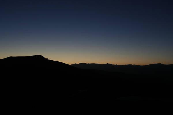 Раннее утро на Майданаке (вид на восток)