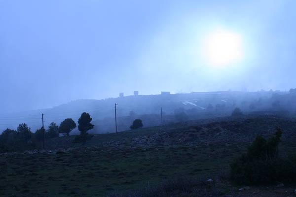 Вот такая погода стояла на горе уже второй день.