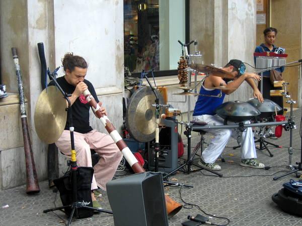барселонские музыканты