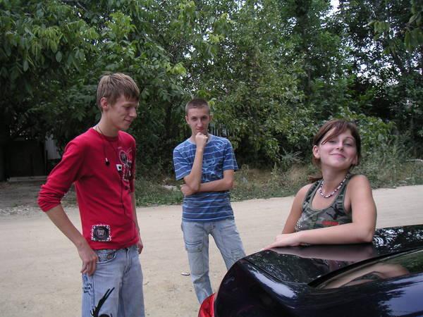 Андрей, Артем и Вика