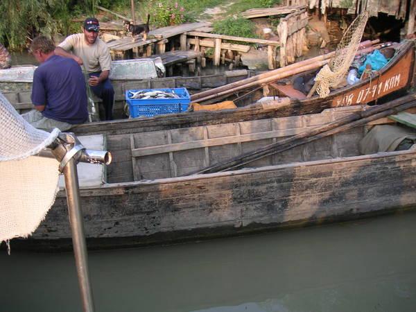 Вилковские рыбаки