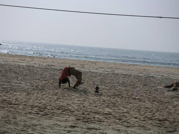Пляжные артисты