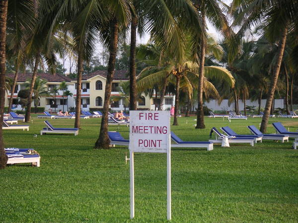 Fire meeting point