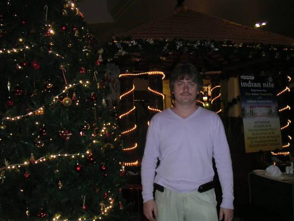 Andy у индусской рождественской елки