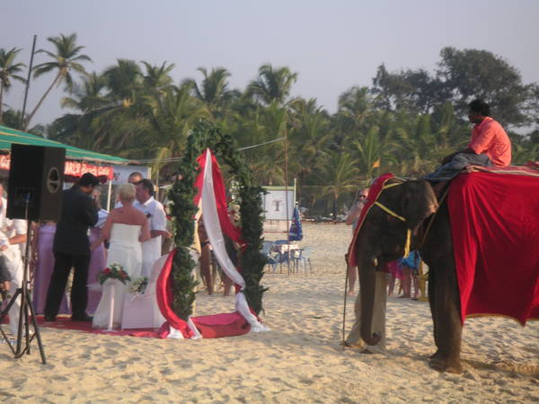 Wedding on Mobor Beach