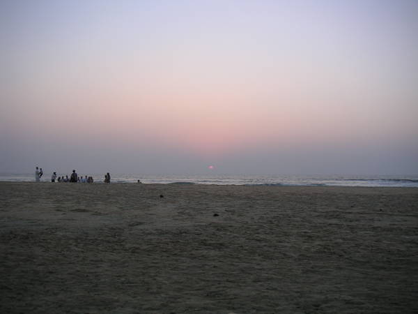 Sunset at Mobor Beach