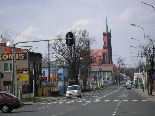 Польша: Дорога из Lodz в Zgierz