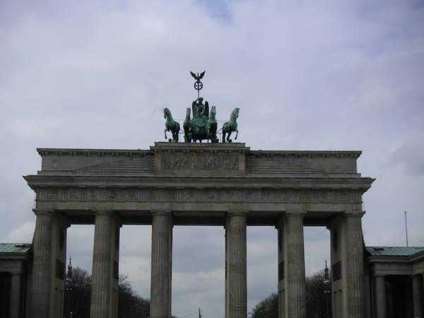 Германия: Berlin: Бранденбургские ворота