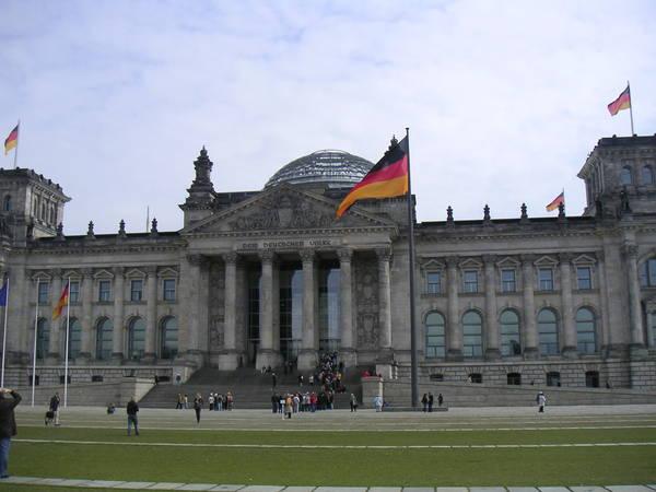 Германия: Berlin: Рейхстаг