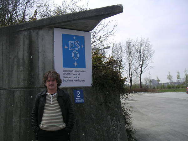Германия: Garching: Andy@ ESO